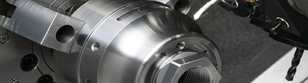 Turned parts with cross drilling & tapping